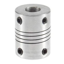 Coupleur souple en aluminium 5x8mm - I3D Service
