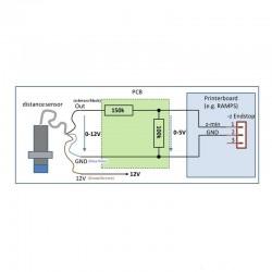 LJC18A3-H-Z/BX - Capteur de proximité capacitif 18mm / Idéal autoleveling shéma de cablage - I3D Service