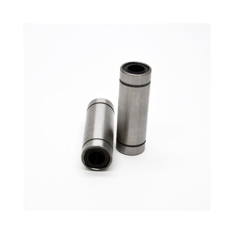 LM6LUU x 2 - Lot de 2 roulements linéaires pour axe de diamètre 6mm - I3D Service