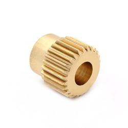 pignons d'entrainement en laiton 26 dents pour extrudeur imprimante 3d - I3D Service