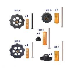 Kit de réglage pour plateau chauffant imprimante 3D - 5 modèles au choix - I3D service
