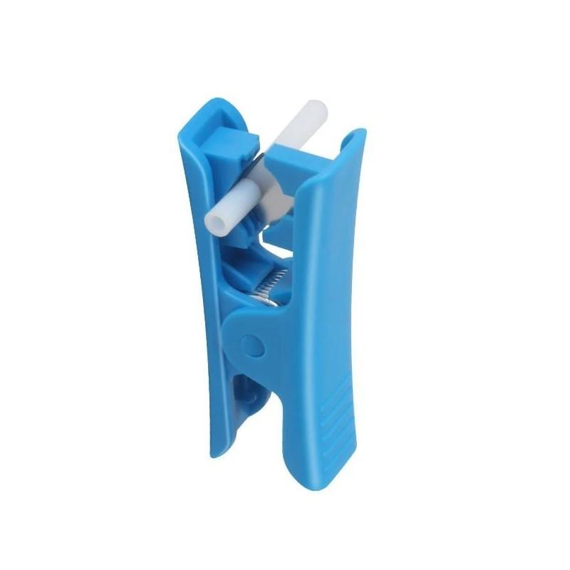 Coupe tube PTFE - bleu - I3D Service