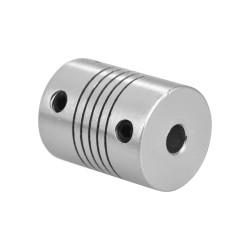 Coupleur souple en aluminium 5 x 5mm - i3D Service