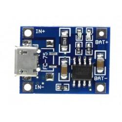 TP4056 - Module chargeur Li-Ion 3.7V - I3D Service