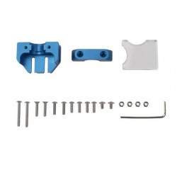 Composition kit Support aluminium pour tête compatible E3D V6 pour imprimante 3D Creality - CR-10 - Ender 3 - I3D Service