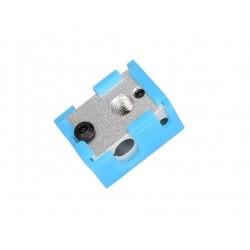 Corps de chauffe compatible E3D V6 pour thermistance PT100 / HT-NTC3950 + protection silicone - I3D Service