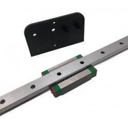 Kit rail linéaire MGN12 axe X pour Creality Ender 3, Ender 3 PRO et Ender 3 V2 - I3D Service