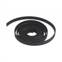 Courroie GT2 9mm renforcée caoutchouc + fibres de verre - I3D Service