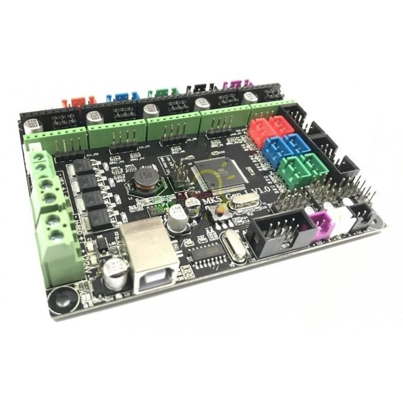 support nema 17 noir pour profilé aluminium 20x20 - I3D Service