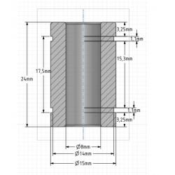 kit générique pour extrudeur dual drive type bondtech - i3d service