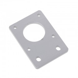 support nema 17 droit pour profilé 20x20 - gris - I3D Service