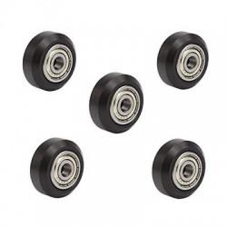 Lot de 5 roulettes en POM pour profilé aluminium V-Slot - I3D Service
